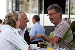 Eddie Jordan and Dietrich Mateschitz