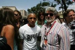 Roberto Carlos and George Lucas