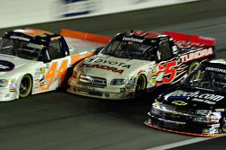 Clay Rogers, Mike Skinner and Kyle Busch