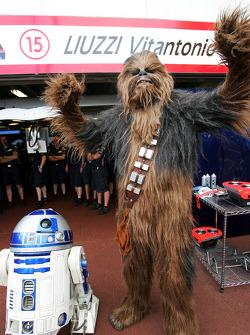 R2-D2 und Chewbacca