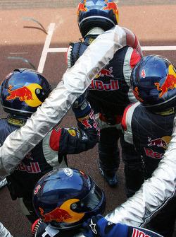 Red Bull Racing equipo de combustible