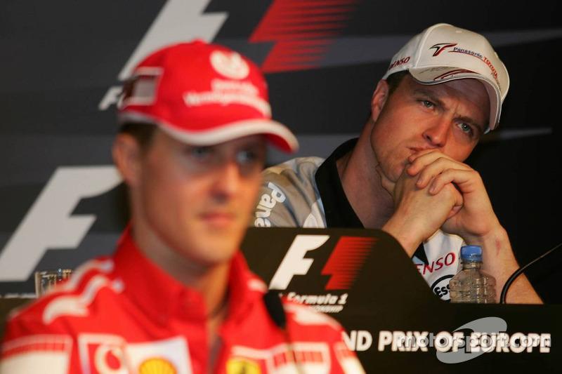 FIA Thursday press conference: Michael Schumacher and Ralf Schumacher