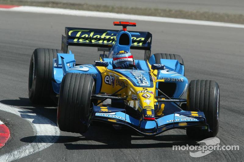 2005 - Nürburgring: Fernando Alonso, Renault R25