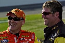 Kevin Harvick and Randy Lajoie