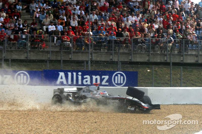 Nurburgring, 2005: Kimi Raikkonen