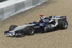 Mark Webber out