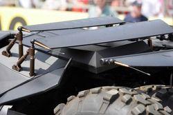 The new Batmobile