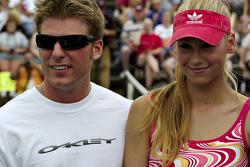Tennis exhibition match: Jamie McMurray and Anna Kournikova