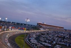 Back straight at Lowes Motor Speedway