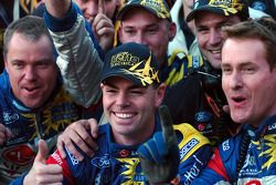 Craig Lowndes and crew
