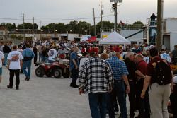The Silver Crown pits are full of people