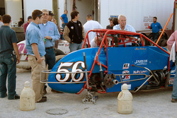 Dave Darland's #56 awaits a right rear tire