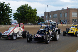 The Last Chance race on its parade lap