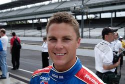 Travis Gregg, qualified outside front row