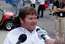 Sam Schmidt, owner of the front row