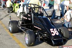 Alex Pruett's #56, sitting in the pits