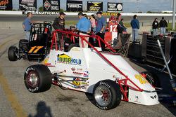 John Heydenreich's #21, sitting in the pits