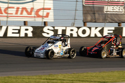 Cole Carter #7 chases Bobby East #9