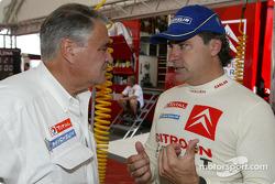 Guy Fréquelin y Carlos Sainz