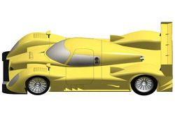Renderings of the new Riley Mk.XIV Le Mans P1 car