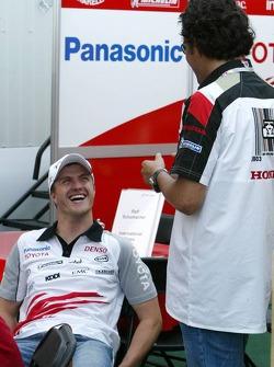 Ralf Schumacher y Enrique Bernoldi