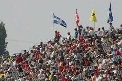 Fans en el Circuit Gilles-Villeneuve