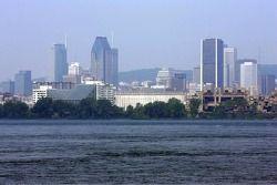 Montreal visto desde la pista