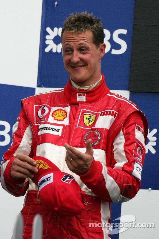 Podium : Michael Schumacher