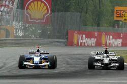 Jacques Villeneuve y Patrick Friesacher