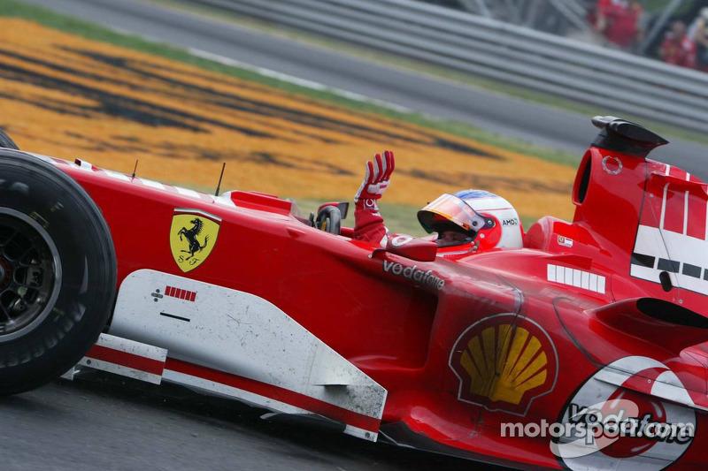 16. Rubens Barrichello, Ferrari: del 20º al 3º en el GP de Canadá 2005
