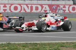 David Coulthard and Ralf Schumacher