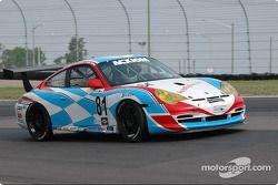#81 Synergy Racing Porsche GT3 Cup: Mae Van Wijk;Price Cobb