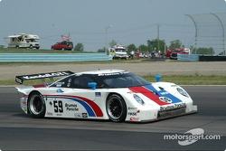 #59 Brumos Racing Porsche Fabcar: Hurley Haywood;JC France