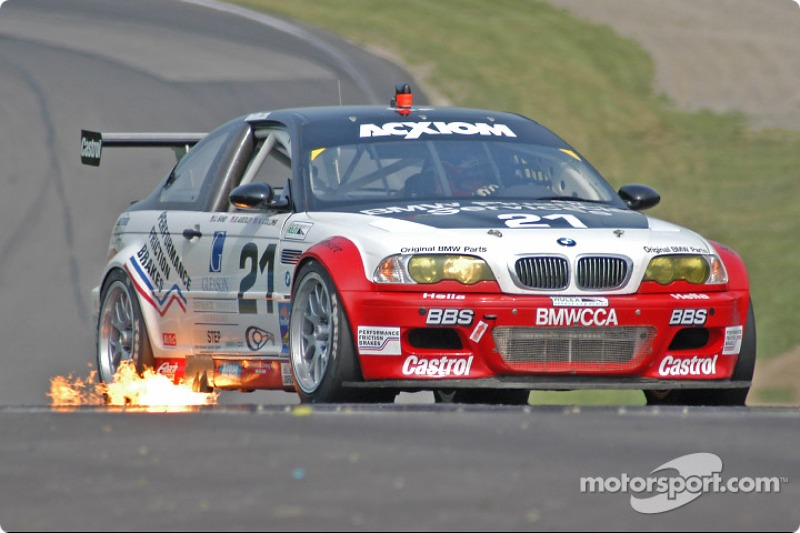 Prototype Technology Group BMW M3 : Bill Auberlen, Joey Hand, Kelly Collins