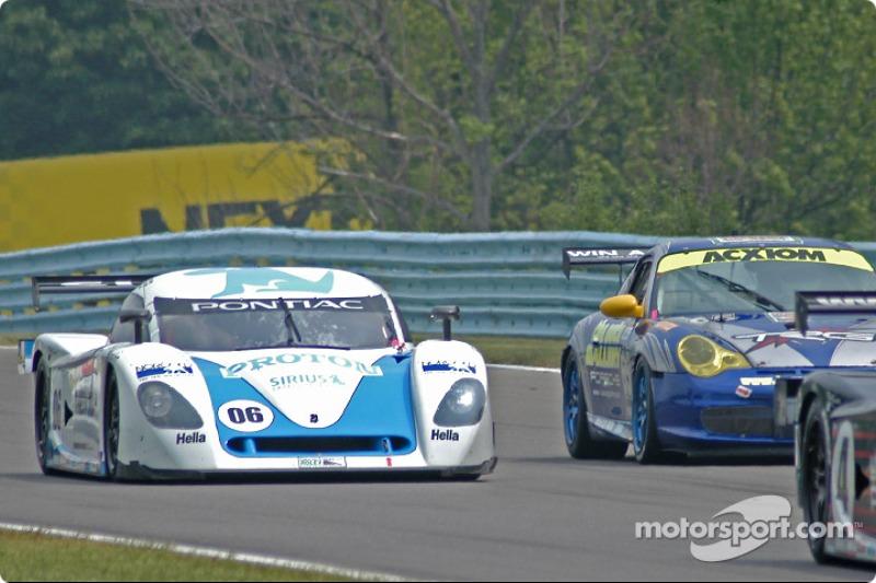 #66 Krohn Racing/ TRG Pontiac Riley: Jorg Bergmeister;Christian Fittipaldi