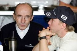 Frank Williams et Nick Heidfeld