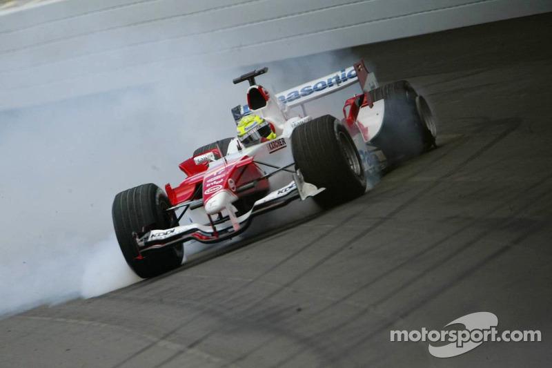 2005: Ральф Шумахер (из Williams в Toyota)