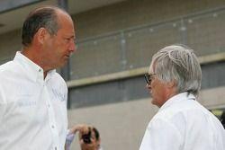 Ron Dennis et Bernie Ecclestone