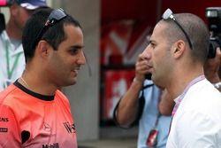 Juan Pablo Montoya et Tony Kanaan