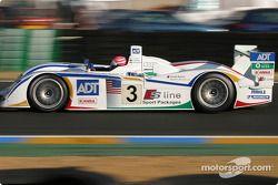 #3 Champion Racing, Audi R8: JJ Lehto, Marco Werner, Tom Kristensen