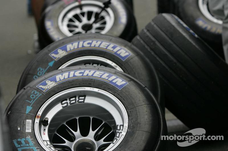 Michelin-Reifen im Fokus