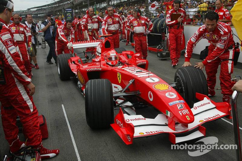2005: Ferrari - 3º lugar, 1 vitória, 62 pontos, 19 GPs