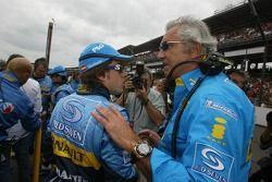 Fernando Alonso e Flavio Briatore