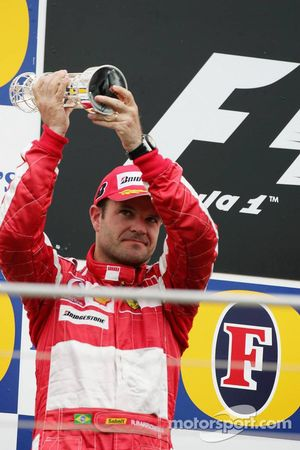 Pódio: Rubens Barrichello