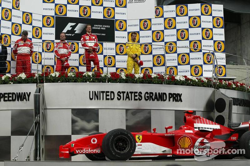 Podium: 1. Schumacher, 2. Barrichello, 3. Monteiro