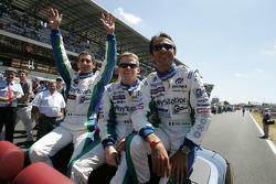 Jean-Christophe Boullion, Emmanuel Collard and Erik Comas