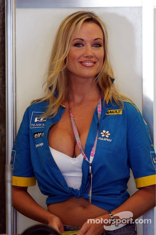 Un fan Renault F1