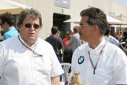 Norbert Haug and Dr Mario Theissen