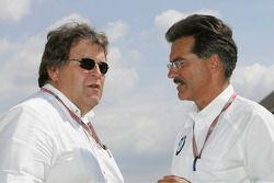 Norbert Haug e Dr Mario Theissen