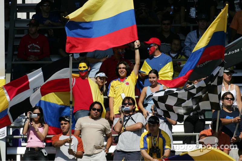 Fans de Juan Pablo Montoya